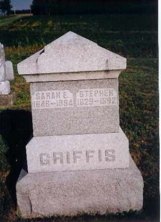 GRIFFIS, STEPHEN - Shelby County, Ohio | STEPHEN GRIFFIS - Ohio Gravestone Photos