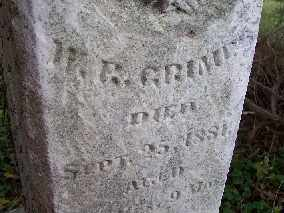 GRIMES, W. R. - Shelby County, Ohio   W. R. GRIMES - Ohio Gravestone Photos