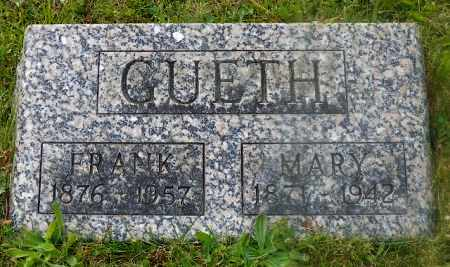 GUETH, FRANK - Shelby County, Ohio | FRANK GUETH - Ohio Gravestone Photos