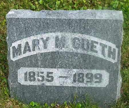 GUETH, MARY M. - Shelby County, Ohio | MARY M. GUETH - Ohio Gravestone Photos