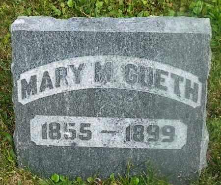 GUETH, MARY M. - Shelby County, Ohio   MARY M. GUETH - Ohio Gravestone Photos