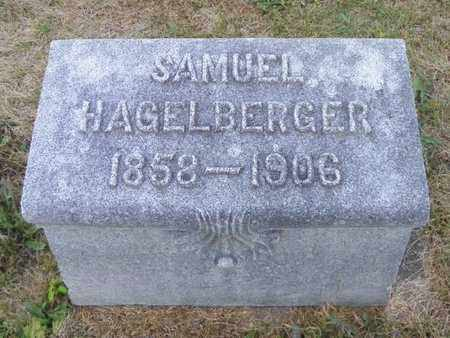 HAGELBERGER, SAMUEL - Shelby County, Ohio | SAMUEL HAGELBERGER - Ohio Gravestone Photos
