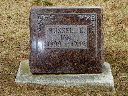 HAMP, RUSSELL E. - Shelby County, Ohio | RUSSELL E. HAMP - Ohio Gravestone Photos