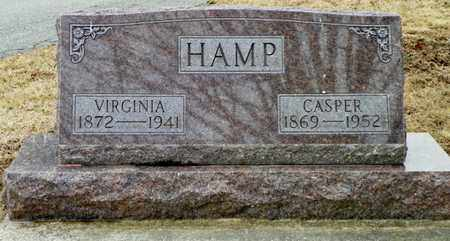 HAMP, CASPER - Shelby County, Ohio | CASPER HAMP - Ohio Gravestone Photos