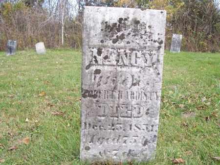 HARDESTY, NANCY - Shelby County, Ohio   NANCY HARDESTY - Ohio Gravestone Photos