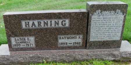 HARNING, SADIE E. - Shelby County, Ohio | SADIE E. HARNING - Ohio Gravestone Photos