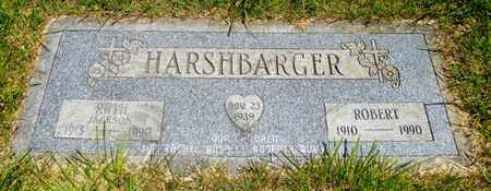 HARSHBARGER, RUTH - Shelby County, Ohio | RUTH HARSHBARGER - Ohio Gravestone Photos
