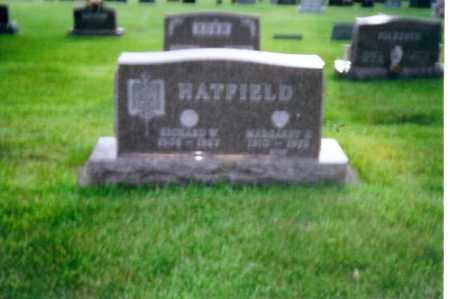 HATFIELD, MARGARET - Shelby County, Ohio | MARGARET HATFIELD - Ohio Gravestone Photos