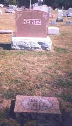 HEINTZ, JACOB C. - Shelby County, Ohio | JACOB C. HEINTZ - Ohio Gravestone Photos