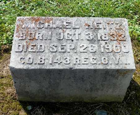 HEITZ, MICHAEL - Shelby County, Ohio | MICHAEL HEITZ - Ohio Gravestone Photos