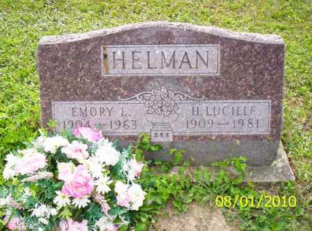 HELMAN, EMORY L. - Shelby County, Ohio | EMORY L. HELMAN - Ohio Gravestone Photos