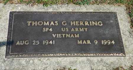 HERRING, THOMAS G. - Shelby County, Ohio | THOMAS G. HERRING - Ohio Gravestone Photos