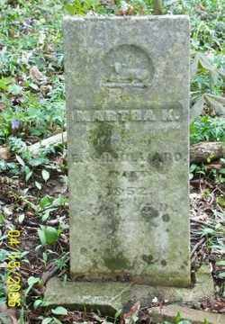 HILLIARD, MARTHA K. - Shelby County, Ohio   MARTHA K. HILLIARD - Ohio Gravestone Photos