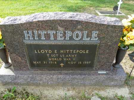HITTEPOLE, LLOYD E. - Shelby County, Ohio | LLOYD E. HITTEPOLE - Ohio Gravestone Photos