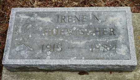 HOEWISCHER, IRENE N. - Shelby County, Ohio | IRENE N. HOEWISCHER - Ohio Gravestone Photos