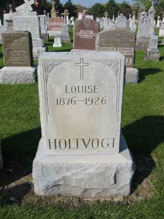 HOLTVOGT, LOUISE - Shelby County, Ohio | LOUISE HOLTVOGT - Ohio Gravestone Photos