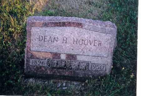 HOOVER, DEAN H - Shelby County, Ohio   DEAN H HOOVER - Ohio Gravestone Photos