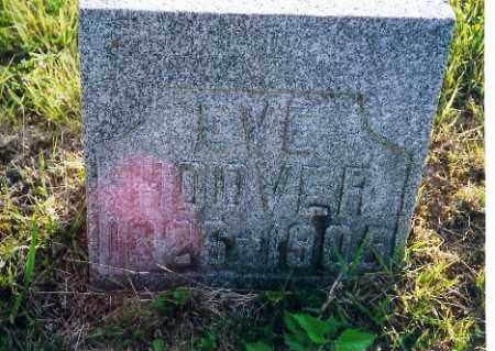 HOOVER, EVE - Shelby County, Ohio | EVE HOOVER - Ohio Gravestone Photos