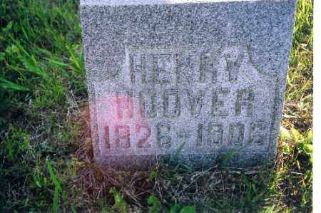 HOOVER, HENRY - Shelby County, Ohio | HENRY HOOVER - Ohio Gravestone Photos