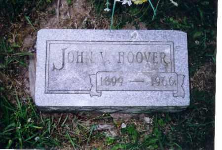 HOOVER, JOHN VIRGIL - Shelby County, Ohio | JOHN VIRGIL HOOVER - Ohio Gravestone Photos