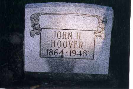 HOOVER, JOHN H - Shelby County, Ohio   JOHN H HOOVER - Ohio Gravestone Photos