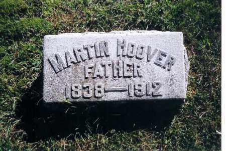 HOOVER, MARTIN - Shelby County, Ohio | MARTIN HOOVER - Ohio Gravestone Photos