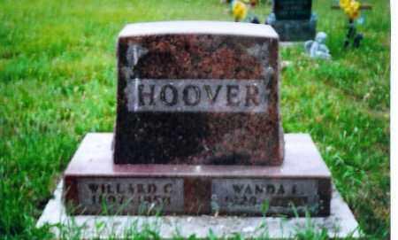 HOOVER, WILLARD C. - Shelby County, Ohio | WILLARD C. HOOVER - Ohio Gravestone Photos