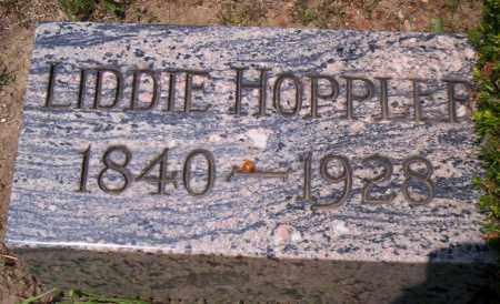 HOPPLER, LIDDIE - Shelby County, Ohio | LIDDIE HOPPLER - Ohio Gravestone Photos