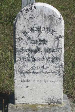 HOWELL, A.R.W. - Shelby County, Ohio | A.R.W. HOWELL - Ohio Gravestone Photos