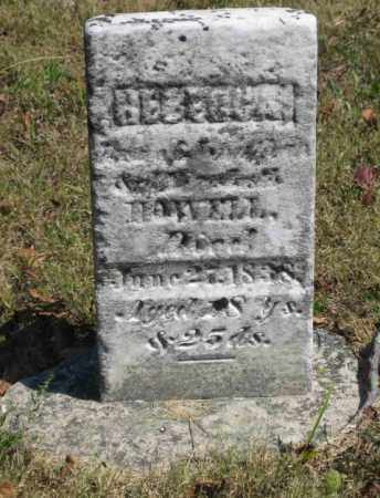 HOWELL, REBECCA - Shelby County, Ohio | REBECCA HOWELL - Ohio Gravestone Photos