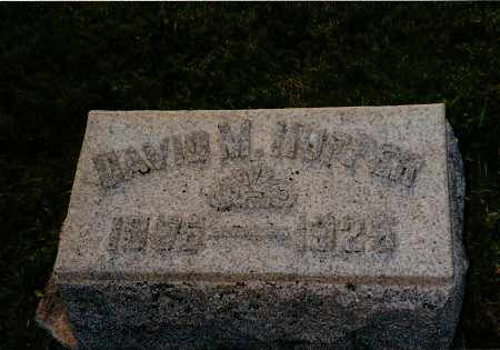 HUFFER, DAVID - Shelby County, Ohio | DAVID HUFFER - Ohio Gravestone Photos