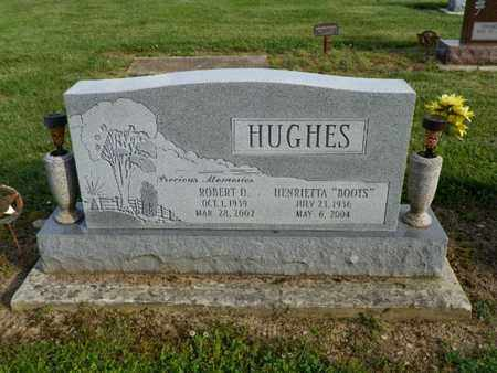 HUGHES, ROBERT D. - Shelby County, Ohio | ROBERT D. HUGHES - Ohio Gravestone Photos