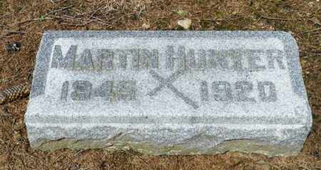 HUNTER, MARTIN - Shelby County, Ohio | MARTIN HUNTER - Ohio Gravestone Photos