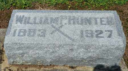 HUNTER, WILLIAM P. - Shelby County, Ohio | WILLIAM P. HUNTER - Ohio Gravestone Photos