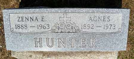 HUNTER, AGNES - Shelby County, Ohio | AGNES HUNTER - Ohio Gravestone Photos