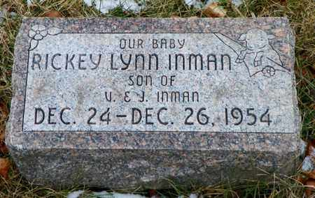INMAN, RICKEY LYNN - Shelby County, Ohio | RICKEY LYNN INMAN - Ohio Gravestone Photos