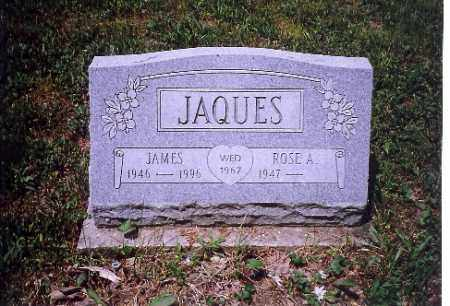 JAQUES, ROSE A. - Shelby County, Ohio | ROSE A. JAQUES - Ohio Gravestone Photos