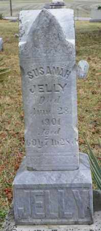 JELLY, SUSANAH - Shelby County, Ohio | SUSANAH JELLY - Ohio Gravestone Photos