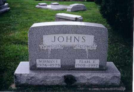 JOHNS, NORMAN E. - Shelby County, Ohio | NORMAN E. JOHNS - Ohio Gravestone Photos