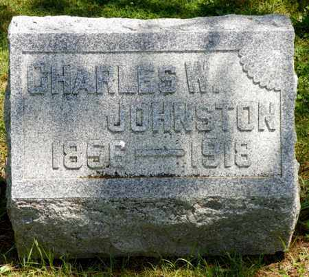 JOHNSTON, CHARLES W. - Shelby County, Ohio | CHARLES W. JOHNSTON - Ohio Gravestone Photos