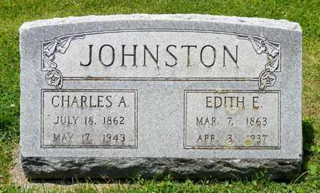 JOHNSTON, CHARLESA. - Shelby County, Ohio | CHARLESA. JOHNSTON - Ohio Gravestone Photos