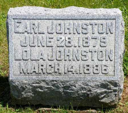 JOHNSTON, EARL - Shelby County, Ohio | EARL JOHNSTON - Ohio Gravestone Photos