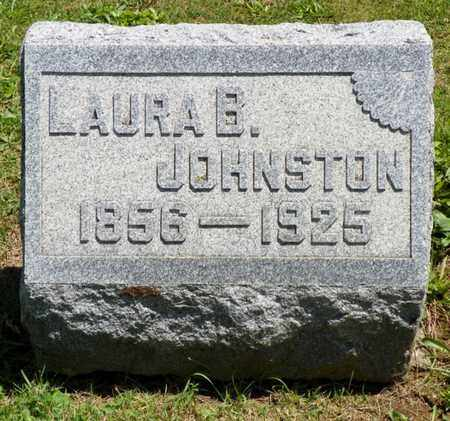 JOHNSTON, LAURA B. - Shelby County, Ohio | LAURA B. JOHNSTON - Ohio Gravestone Photos