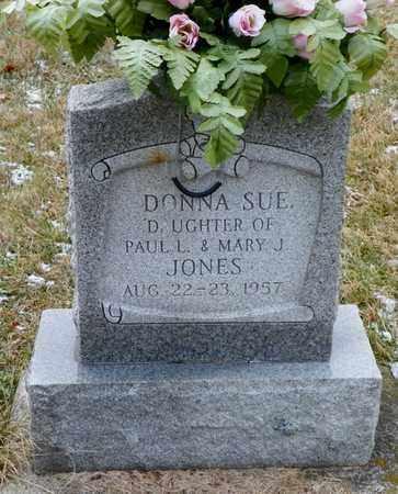 JONES, DONNA SUE - Shelby County, Ohio | DONNA SUE JONES - Ohio Gravestone Photos