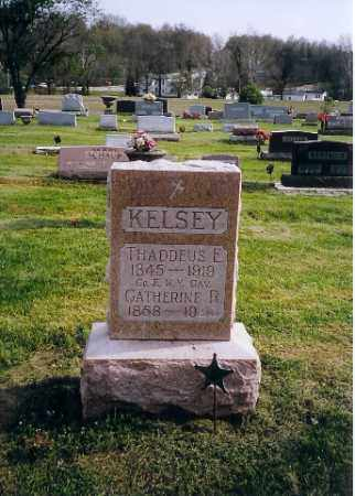 KELSEY, THADDEUS & CATHERINE - Shelby County, Ohio | THADDEUS & CATHERINE KELSEY - Ohio Gravestone Photos