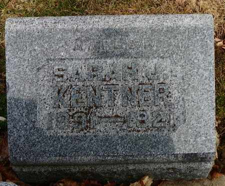KENTNER, SARAH J. - Shelby County, Ohio | SARAH J. KENTNER - Ohio Gravestone Photos