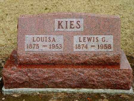 KIES, LOUISA - Shelby County, Ohio | LOUISA KIES - Ohio Gravestone Photos