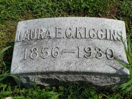 KIGGINS, LAURA E. - Shelby County, Ohio | LAURA E. KIGGINS - Ohio Gravestone Photos