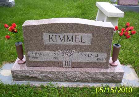 KIMMEL, VIOLA M. - Shelby County, Ohio | VIOLA M. KIMMEL - Ohio Gravestone Photos