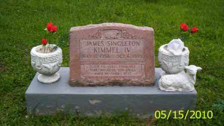 KIMMEL, JAMES SINGLETON IV - Shelby County, Ohio | JAMES SINGLETON IV KIMMEL - Ohio Gravestone Photos